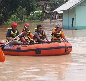 Banjir di Lampung Barat