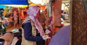 Sidak Daging di pasar